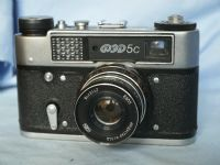 ' 5C ' Fed 5C Vintage Rangefinder Camera c/w f2.8 55mm Lens -70 YEARS- £39.99